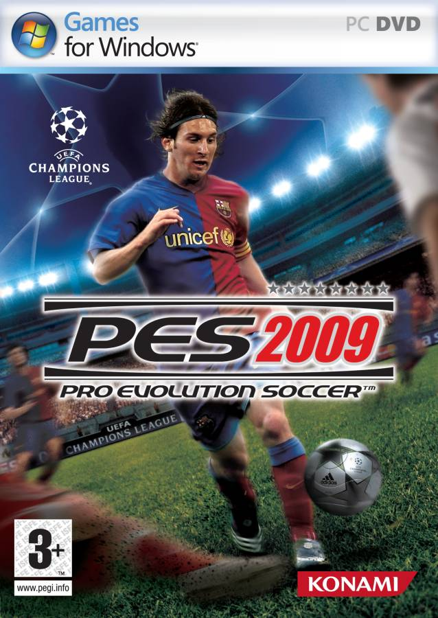 PES 2009 {Rip} {Only 1.4 GB} Pes2009-cover