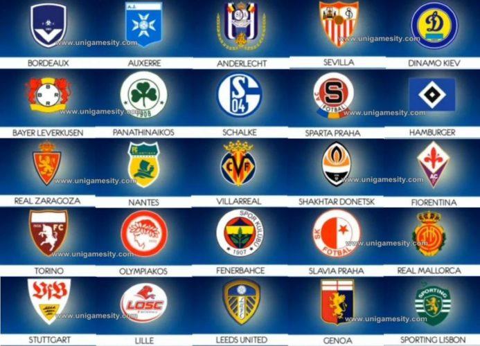 Très 2012 Football Logo's Quiz Answers: Level 1 & Level 2 (iPhone  ZZ51