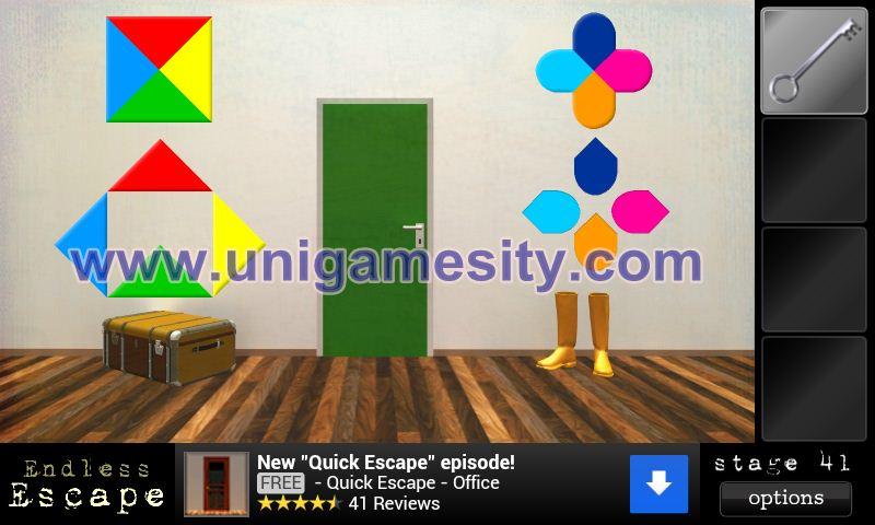 Endless Escape Level 41, 42, 43, 44, 45, 46 Walkthrough   Unigamesity