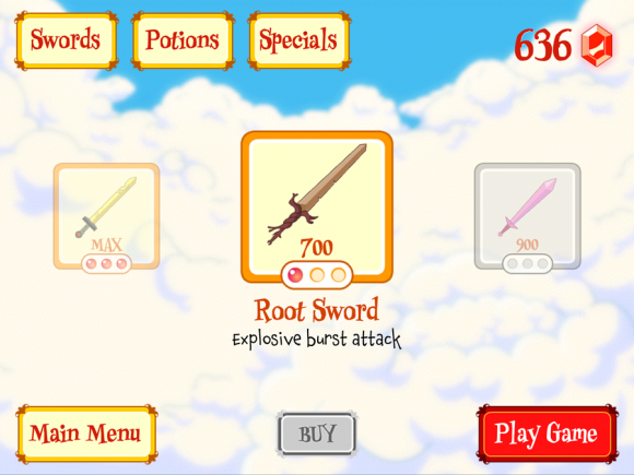 fionna fights upgrade screenshot