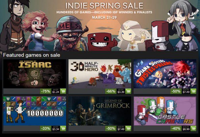 Indie Spring Sale