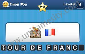 Bike And Flag Emoji Emoji Pop Answers  Level 9