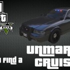 gta 5 unmarked police cruiser