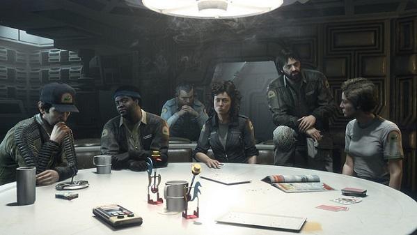 alien isolation original cast