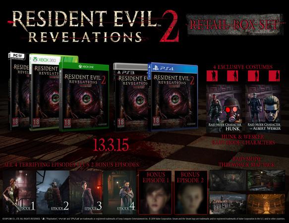 Resident Evil Revelations 2 boxed