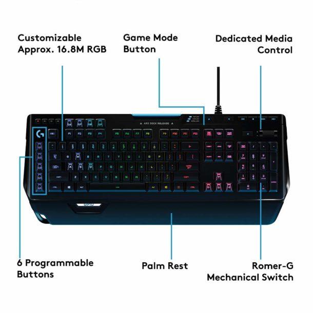 Logitech G910 Orion Spectrum