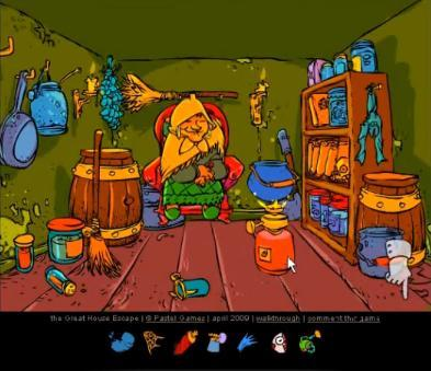 The great house escape the great flash game of the day for The great escape house