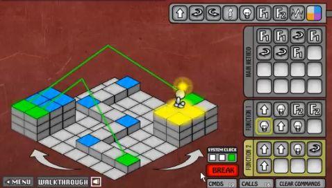 Lightbot2 walkthrough