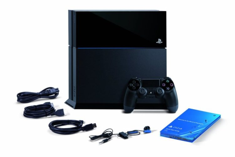 playstation 4 guide what 39 s inside the ps4 box unigamesity. Black Bedroom Furniture Sets. Home Design Ideas