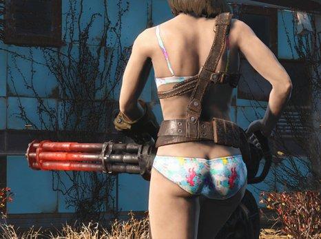 Nude mod fallout 4