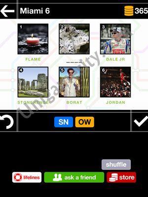 pics pieces answers miami 06