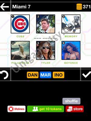 pics pieces answers miami 07