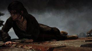 Our defiant Tomb Raider (screenshot by me)