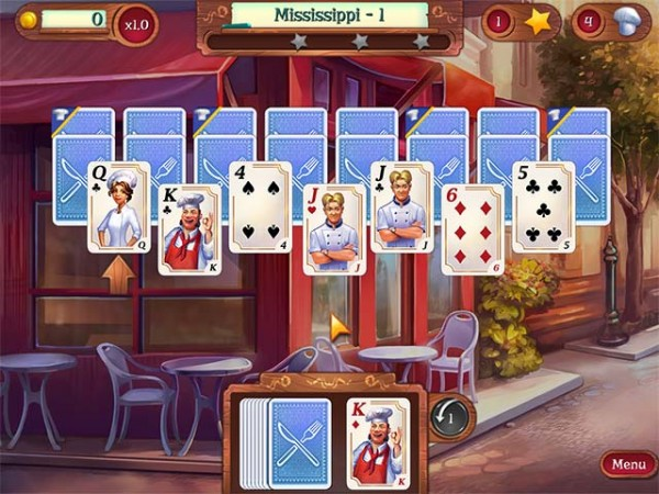 10 chef solitaire
