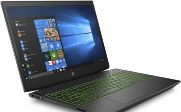 "HP Pavilion Gaming Laptop 15.6"" Core i5-8300H 15.6-inch Diagonal Full HD IPS Anti-Glare WLED-Backlit Display(1920 x 1080) with Narrow Bezel Design 8GB RAM + 1TB HDD Storage 15-cx0056wm"
