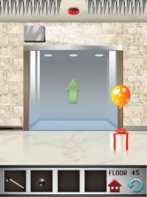 100 floors level 45 step 1