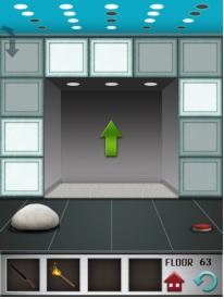 100 floors level 63 step 3 door open