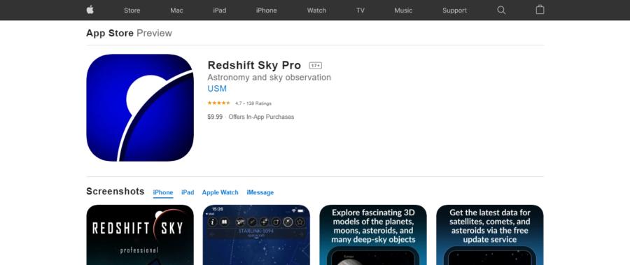 Redshift Sky Pro