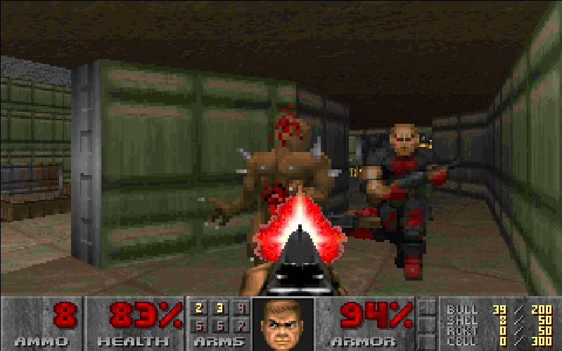 play original doom online