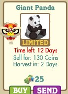 farmville giant panda