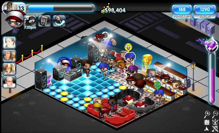 funny city games. Nightclub city, everyones