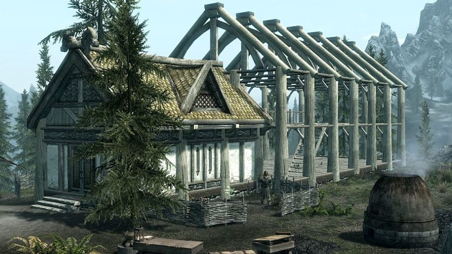 Guide how to build your house in skyrim hearthfire full for Build your home