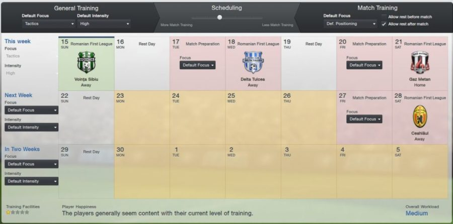 How to use training more effectively in football manager.