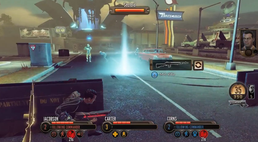 The bureau xcom declassified gameplay debut unigamesity for Bureau 13 video game