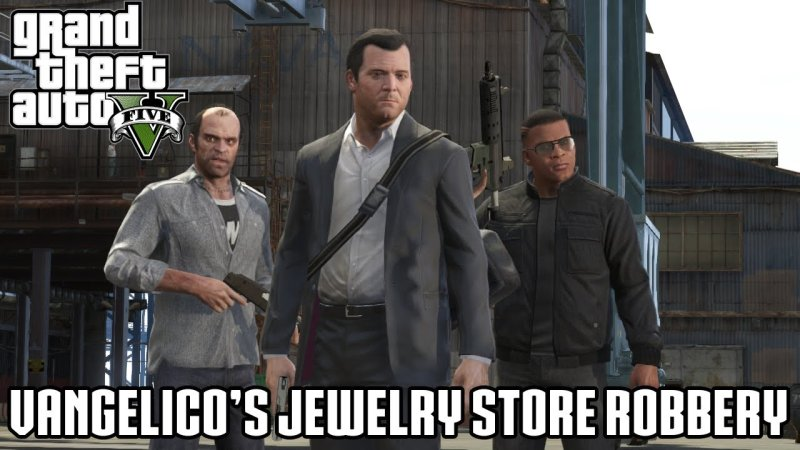 grand theft auto 5 first heist vangelico heist guide unigamesity. Black Bedroom Furniture Sets. Home Design Ideas