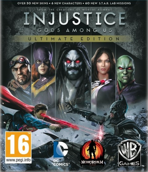 injustice ultimate cover