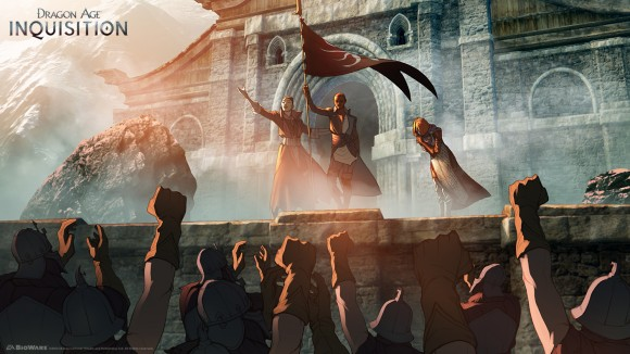 Dragon Age Inquisition - Coronation by Matt Rhodes
