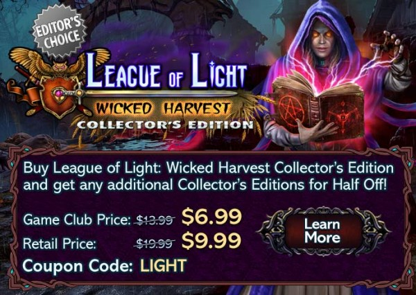 league of light offer