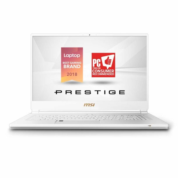 "MSI P65 Creator 8RF-450US Ultra Thin Productivity / Gaming Laptop, 15.6"" 144Hz Anti-Glare Display, GTX 1070 8GB, i7-8750H, 32GB RAM, 512GB NVMe, Win 10 Pro 64bit, Backlit Keys, Fingerprint, Metal"